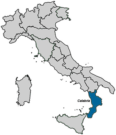 An Overview of the region of Calabria